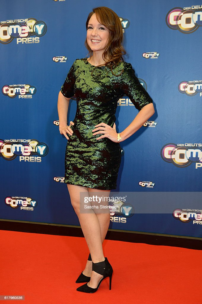 Carolin Kebekus attends the 20th Annual German Comedy Awards at Coloneum on October 25, 2016 in Cologne, Germany.