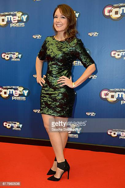 Carolin Kebekus attends the 20th Annual German Comedy Awards at Coloneum on October 25 2016 in Cologne Germany