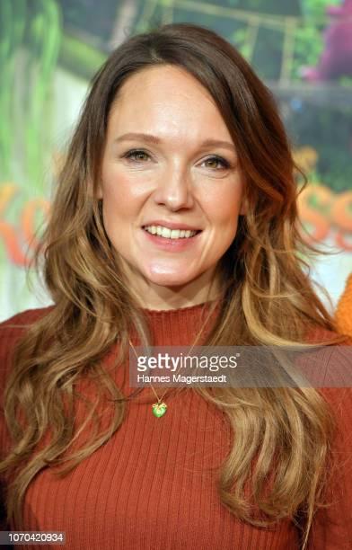 Carolin Kebekus attends the premiere for the film 'Der kleine Drache Kokosnuss Auf in den Dschungel' at Cinemaxx on December 9 2018 in Munich Germany