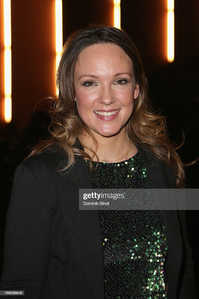 Carolin Kebekus attends the Ritter Rost Premiere on January 6, 2013 in Munich, Germany.
