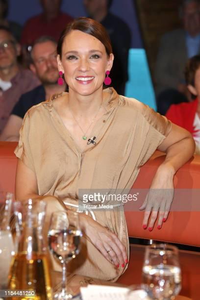 Carolin Kebekus during the NDR Talk Show on June 7 2019 in Hamburg Germany