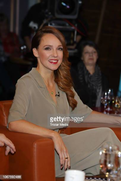 Carolin Kebekus during the 'NDR Talk Show' on November 30 2018 in Hamburg Germany
