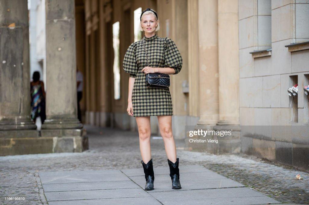 Street Style - Berlin - August 4, 2019 : News Photo