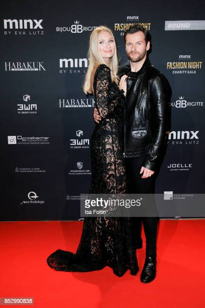 Carolin Niemczyk and Daniel Grunenberg of the duo Glasperlenspiel during the Minx Fashion Night in favour of 'Sauti Kuu' of Auma Obama at Wuerzburger...