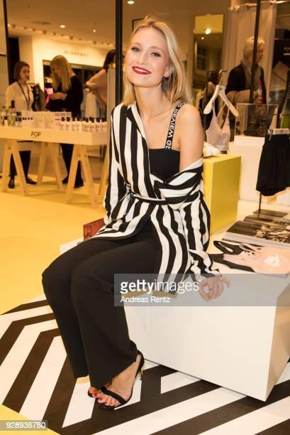 Carolin Niemczyk attends Peek Cloppenburg Launch Party Pop Impression on March 7 2018 in Berlin Germany