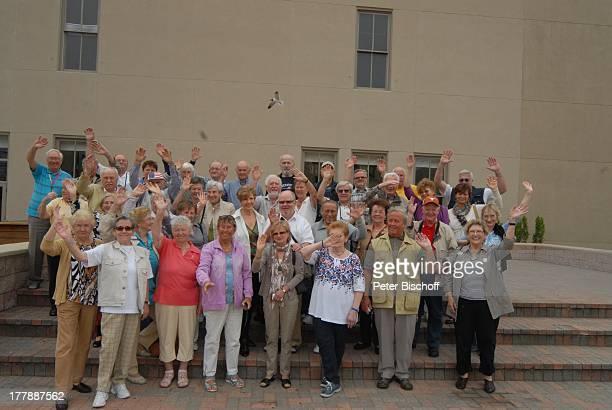Carolin Reiber Susanne Beck Teilnehmer Zuschauerreise Insel Galveston Texas Nordamerika USA Amerika Volksmusikreise winken ZuschauerReise Moderatorin