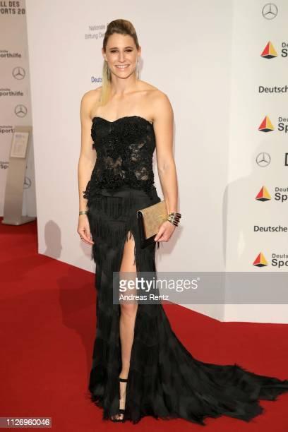 Carolin Schaefer attends Ball des Sports 2019 Gala at RheinMain CongressCenter on February 02, 2019 in Wiesbaden, Germany.