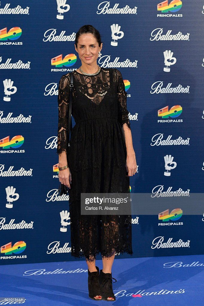 40 Principales Awards 2015 - Photocall