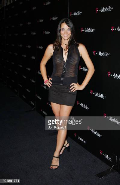 """Carolina Bacardi during T-Mobile Action Sports Team Hosts """"Action-Packed"""" - Arrivals at ArcLight Cinema Rooftop in Hollywood, California, United..."""