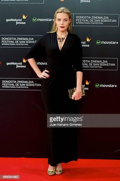 Carolina Bang attends 'Mi Gran Noche' premiere during 63rd San Sebastian Film Festival on September 20 2015 in San Sebastian Spain