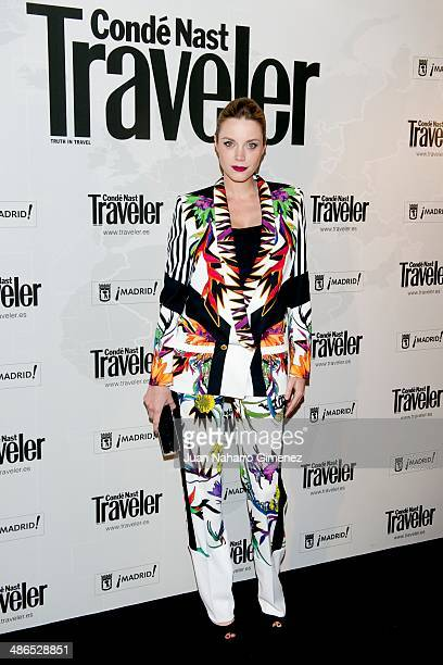 Carolina Bang attends the Conde Nast Traveler Awards 2014 at the Jardines de Cecilio Rodriguez on April 24 2014 in Madrid Spain