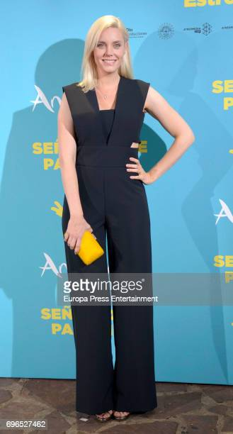 Carolina Bang attends the 'Senor dame paciencia' premiere at Fortuny Palace on June 15 2017 in Madrid Spain
