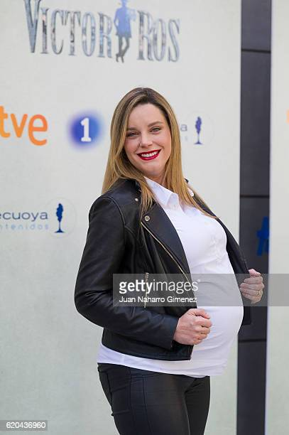 Carolina Bang attends 'Victor Ros' photocall at Academia de Cine on November 2 2016 in Madrid Spain