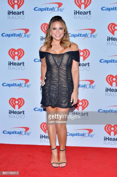 Carolina Bermudez attends the 2017 iHeartRadio Music Festival at TMobile Arena on September 23 2017 in Las Vegas Nevada