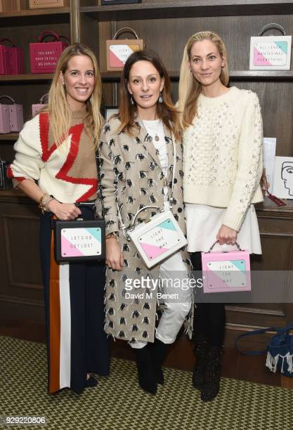 Carolina Bonfiglio Melissa del Bono and Annika Murjahn attend an International Women's Day Breakfast hosted by meli melo and The Walkabout...