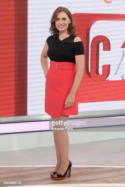 Carolina Casado attends the 'Corazon' TV programme press conference at TVS studios on September 17 2018 in Madrid Spain