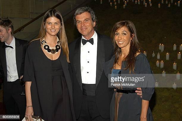 Carolina Castiglioni, Gianni Castiglioni and Consuelo Castiglioni attend The Metropolitan Museum of Art Costume Institute Spring 2006 Benefit Gala...