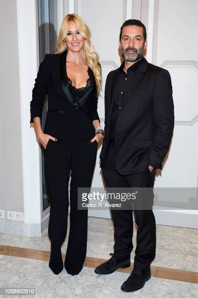 Carolina Cerezuela and Jaume Anglada attend a charity dinner by Querer Foundation at the Villamagna Hotel on November 7 2018 in Madrid Spain