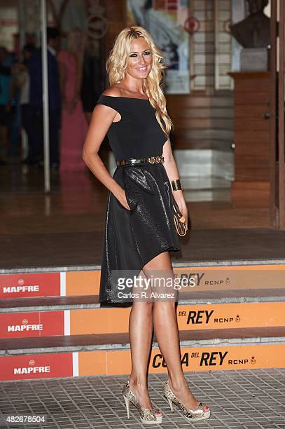 Carolina Cerezuela attends a Charity Gala against skin cancer at the Royal Nautical Club on August 1 2015 in Palma de Mallorca Spain