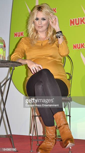Carolina Cerezuela attends 'Erase Una Vez' by Nuk press conference on October 18 2012 in Madrid Spain