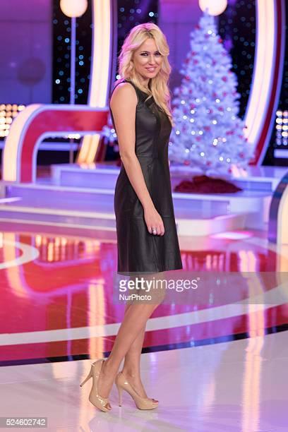Carolina Cerezuela attends the presentation of the Christmas programming TVE in Madrid December 10 2015 Photo Oscar Gonzalez/NurPhoto