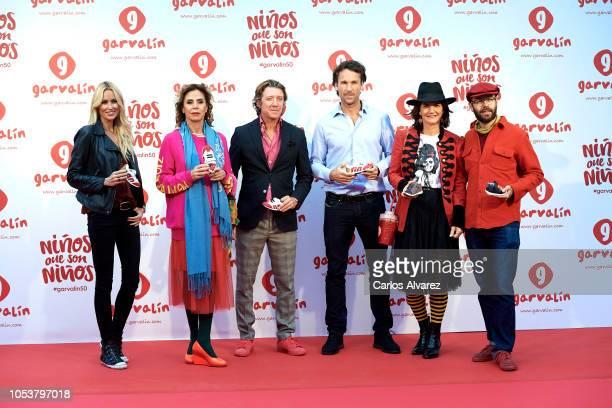 Carolina Cerezuela Designer Agatha Ruiz de la Prada Nicolas Vallejo Najera Carlos Moya Samantha Vallejo Najera and Tristan Ramirez attend the...