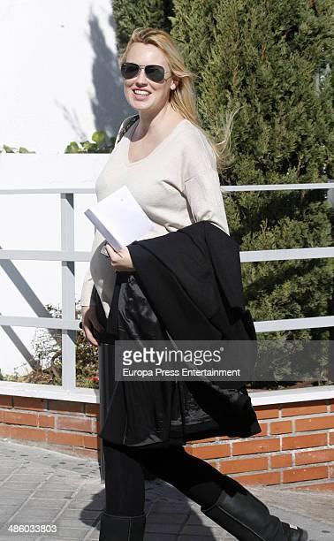 Carolina Cerezuela is seen on April 2 2014 in Madrid Spain