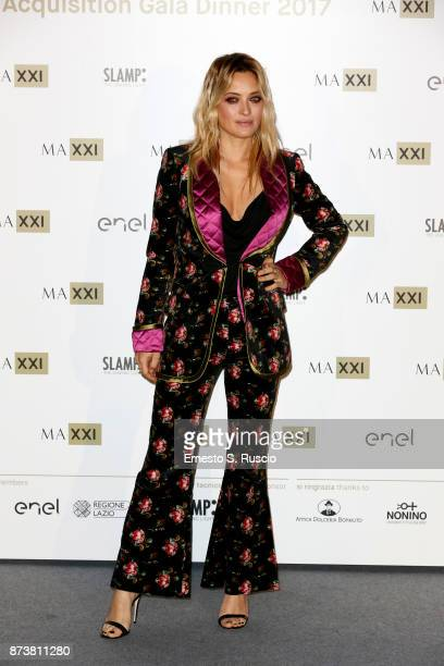 Carolina Crescentini attends MAXXI Acquisition Gala Dinner 2017 at Maxxi on November 13 2017 in Rome Italy