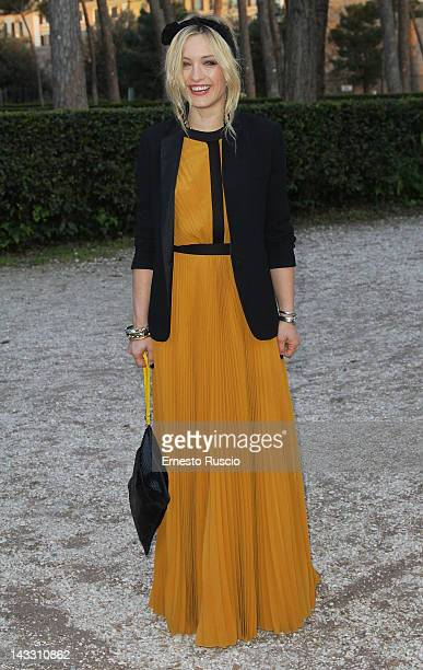 Carolina Crescentini attends the Italian DVD Bluray Awards at La Casa Del Cinema on April 23 2012 in Rome Italy