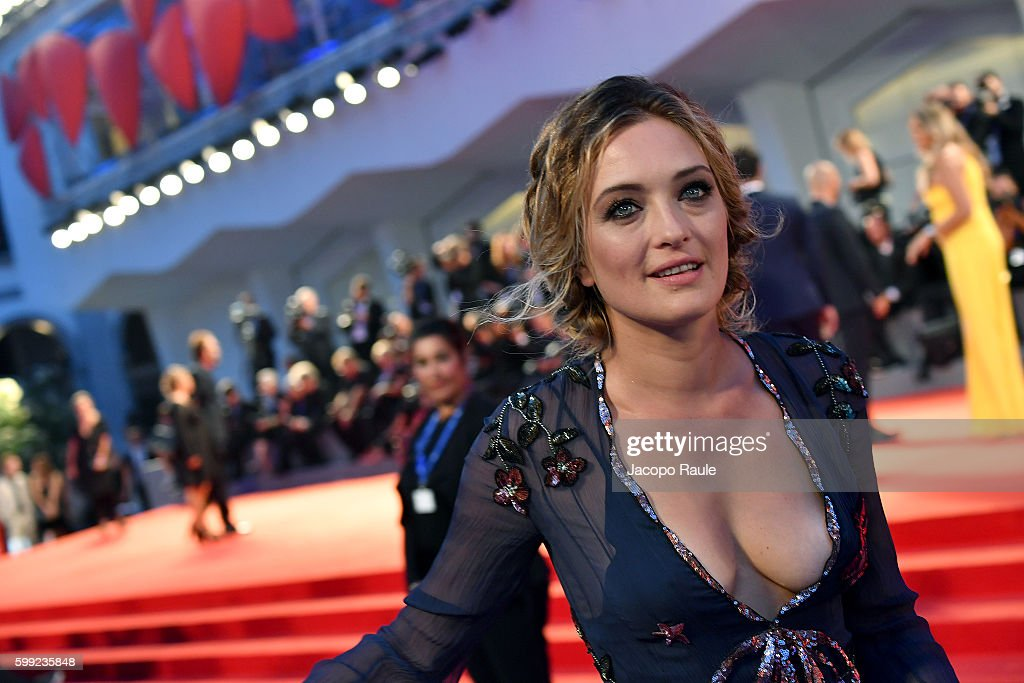 Carolina Crescentini attends the premiere of 'Hacksaw Ridge' during the 73rd Venice Film Festival at Sala Grande on September 4, 2016 in Venice, Italy.
