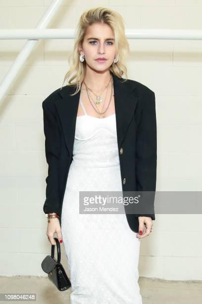 Carolina Daur on February 11 2019 in New York City