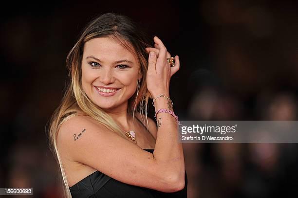 Carolina Facchinetti attends 'Razza Bastarda' Premiere during The 7th Rome Film Festival on November 17 2012 in Rome Italy