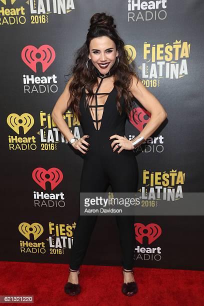 Carolina Gaitan attends iHeartRadio Fiesta Latina at American Airlines Arena on November 5, 2016 in Miami, Florida.