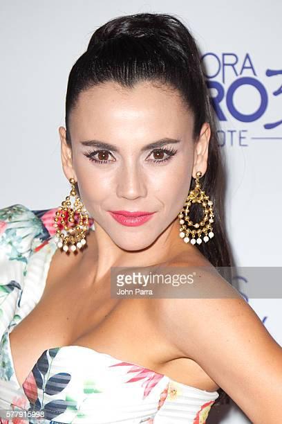 Carolina Gaitan attends premiere of new Telemundo productions Silvana Sin Lana, Sin Senos Si Hay Paraiso and Senora Acero 3 La Coyote at Conrad Hotel...