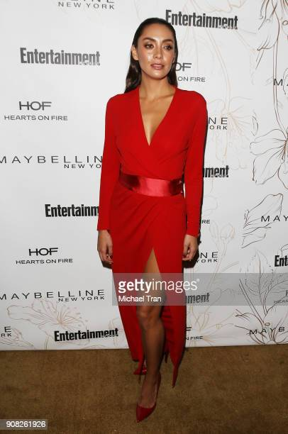 Carolina Guerra attends the Entertainment Weekly hosts celebration honoring nominees for The Screen Actors Guild Awards held on January 20 2018 in...