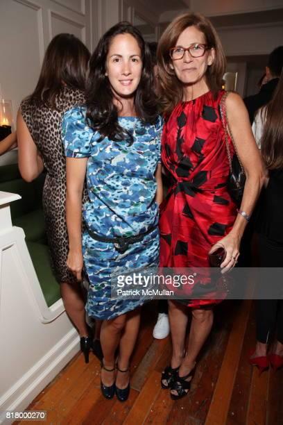 Carolina Hererra Jr and Sasha Iglehart attend GLAMOUR Welcomes Anne Christensen As New Fashion Director at Peels Restaurant on September 9 2010 in...