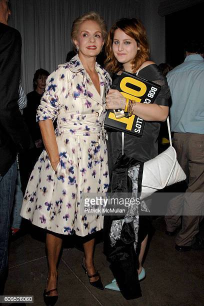 Carolina Herrera and Samantha Perelman attend INTERVIEW MAGAZINE DIANE VON FURSTENBERG and W HOTELS Launch Party for BOB COLACELLO's new book OUT at...