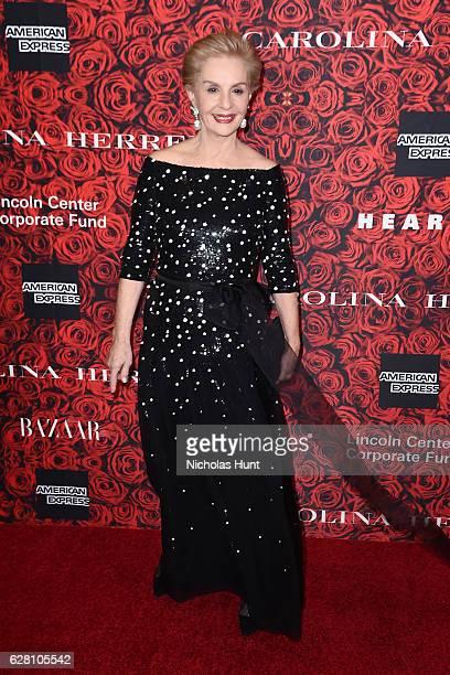 """Carolina Herrera attends """"An Evening Honoring Carolina Herrera"""" at Alice Tully Hall at Lincoln Center on December 6, 2016 in New York City."""