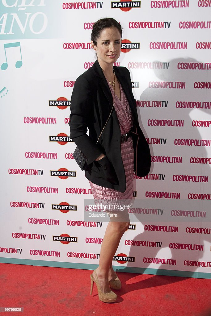 Carolina Herrera attends Cosmopolitan, fragance of the year photocall at Lara Theatre on May 17, 2010 in Madrid, Spain.