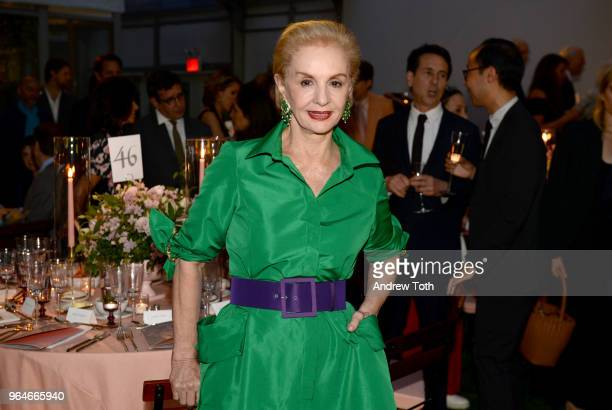 Carolina Herrera attends MOMA's Party in the Garden 2018 at The Museum of Modern Art on May 31 2018 in New York City