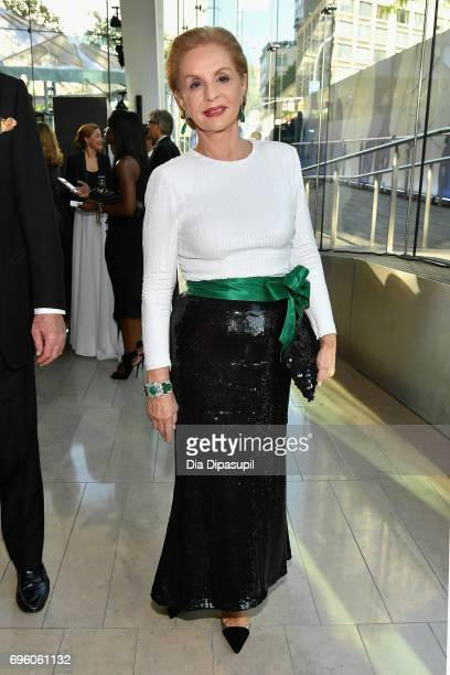 Carolina Herrera attends the 2017 Fragrance Foundation Awards Presented By Hearst Magazines at Alice Tully Hall on June 14 2017 in New York City