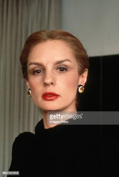 Carolina Herrera circa 1989 in New York.