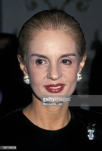 Carolina Herrera during Fashion Institute Awards Dinner Honors Annette Green at Waldorf Astoria in New York City New York United States