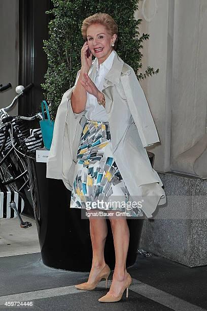 Carolina Herrera is seen on May 08 2012 in New York City