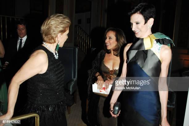 Carolina Herrera Rosanna Scotto and Amy Fine Collins attend LIGHTHOUSE INTERNATIONAL A Posh Affair Honoring Carolina Herrera Michael Bruno at The Oak...