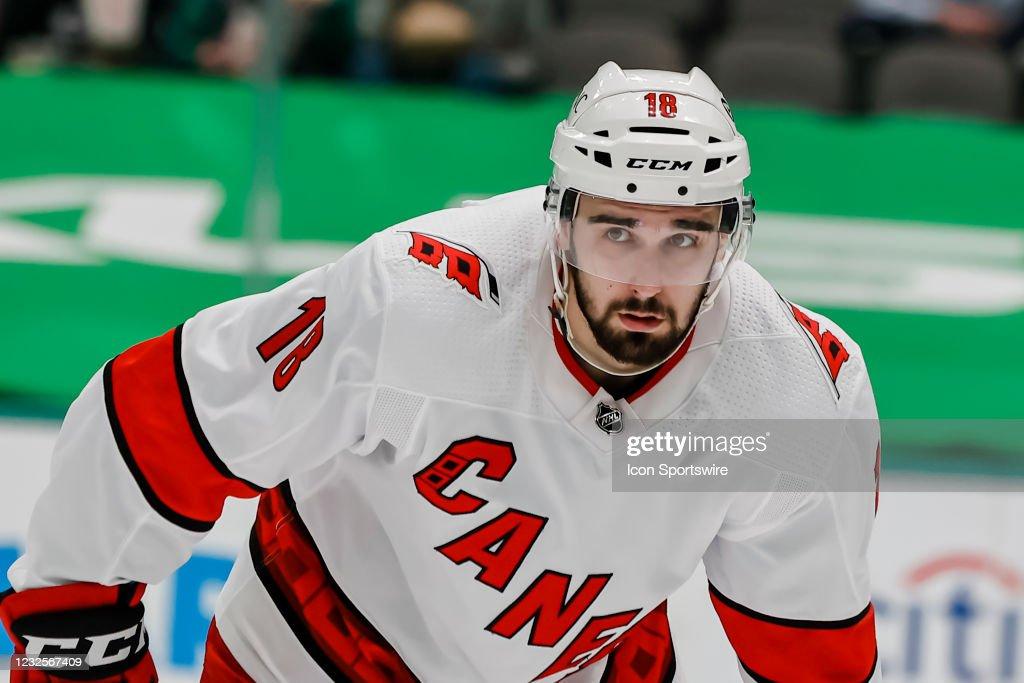 NHL: APR 26 Hurricanes at Stars : News Photo