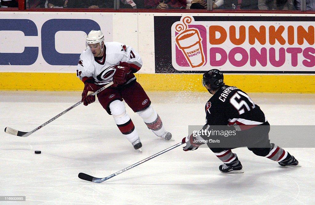 Carolina Hurricanes vs Buffalo Sabres - November 9, 2005