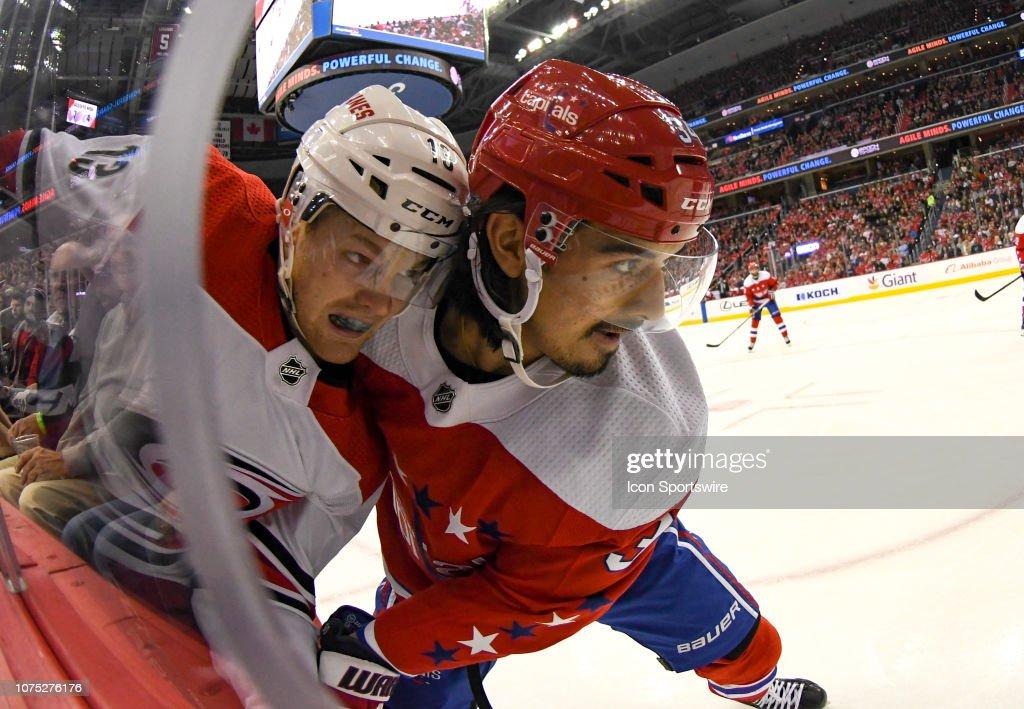 NHL: DEC 27 Hurricanes at Capitals : News Photo