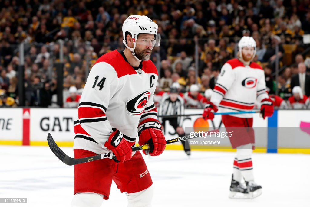 NHL: MAY 12 Stanley Cup Playoffs Eastern Conference Final - Hurricanes at Bruins : News Photo