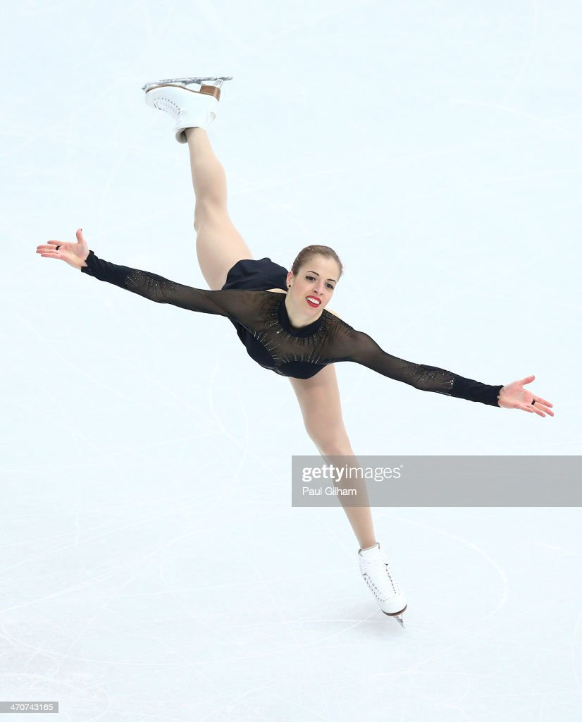 Carolina Kostner of Italy competes in the Figure Skating Ladies' Free Skating on day 13 of the Sochi 2014 Winter Olympics at Iceberg Skating Palace on February 20, 2014 in Sochi, Russia.